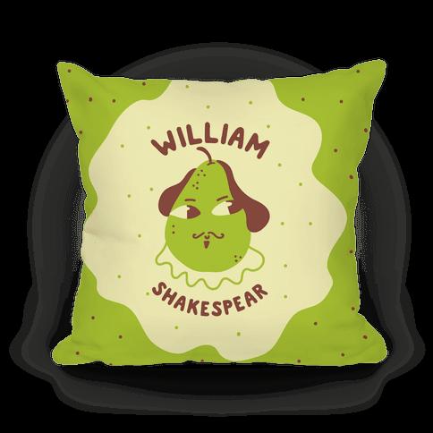 William ShakesPear Pillow