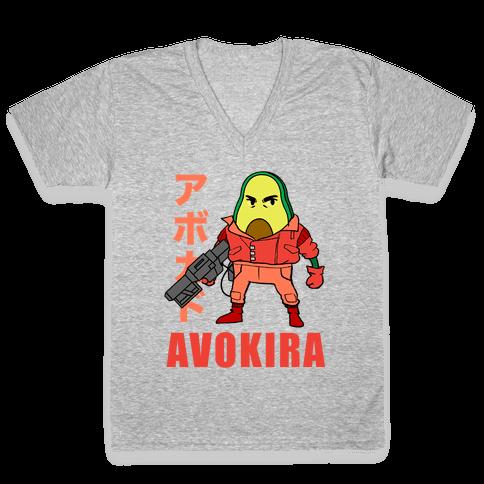 Avokira V-Neck Tee Shirt