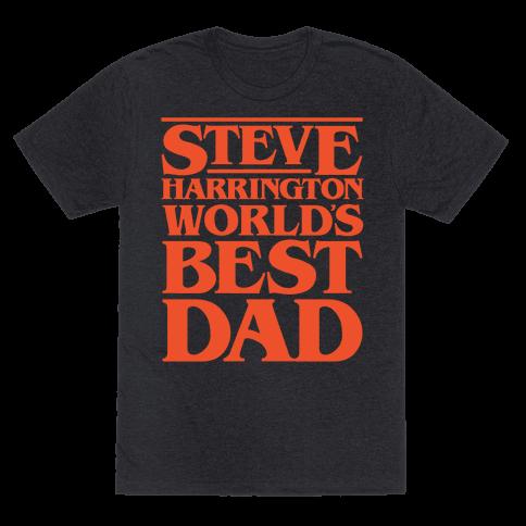 Steve Harrington World's Best Dad Parody White Print