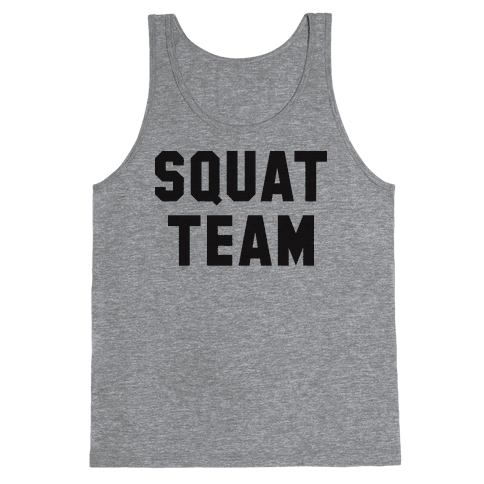 Squat Team Tank Top