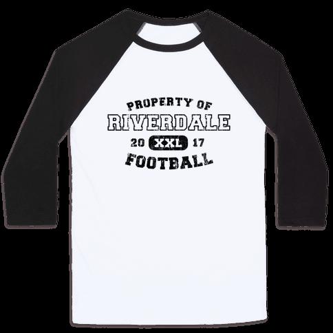 Property of Riverdale football Baseball Tee