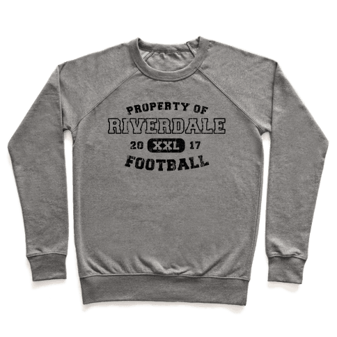 Property of Riverdale football Pullover