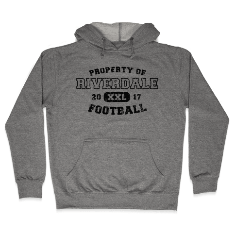 Property of Riverdale football Hooded Sweatshirt
