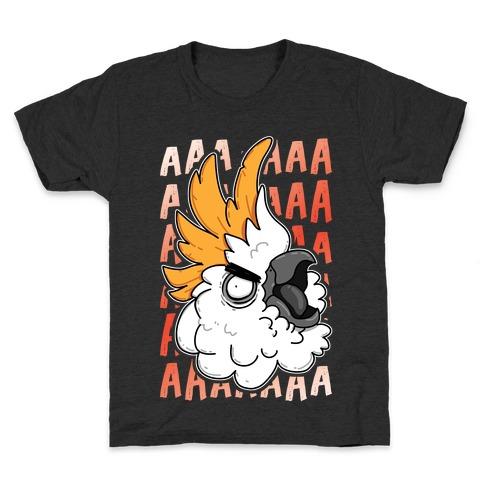 Screaming Cockatoo Kids T-Shirt