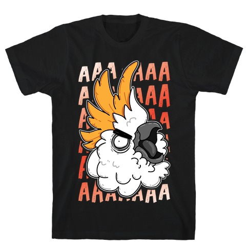 Screaming Cockatoo T-Shirt