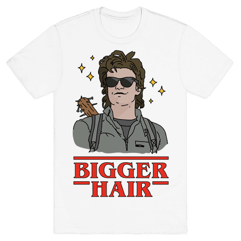 Bigger Hair Mens T-Shirt