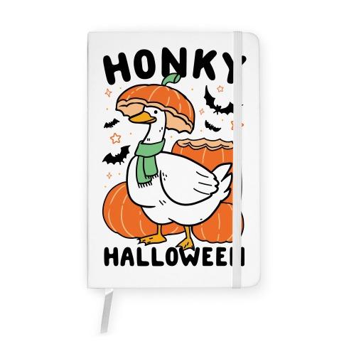 Honky Halloween Notebook