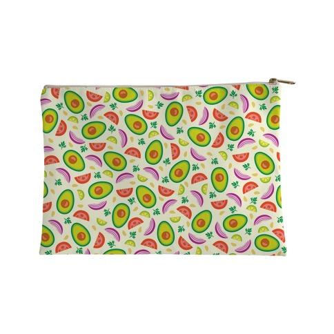 Guac Pattern Accessory Bag