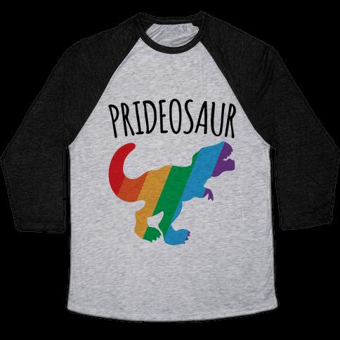 Prideosaur  Baseball Tee
