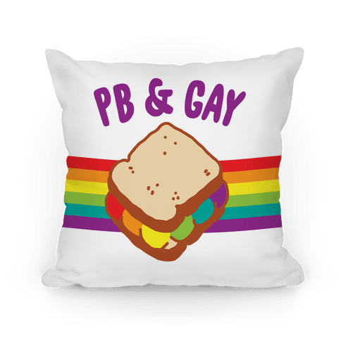 PB & GAY Pillow