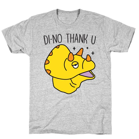 Di-No Thank U Dinosaur T-Shirt