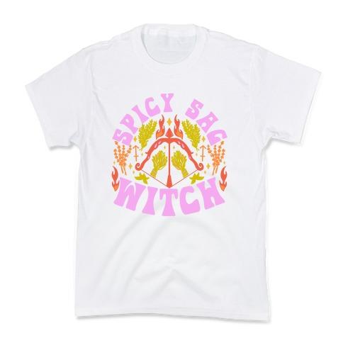 Spicy Sag Witch Kids T-Shirt