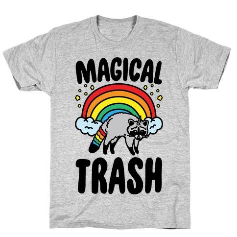 Magical Trash Raccoon Mens/Unisex T-Shirt