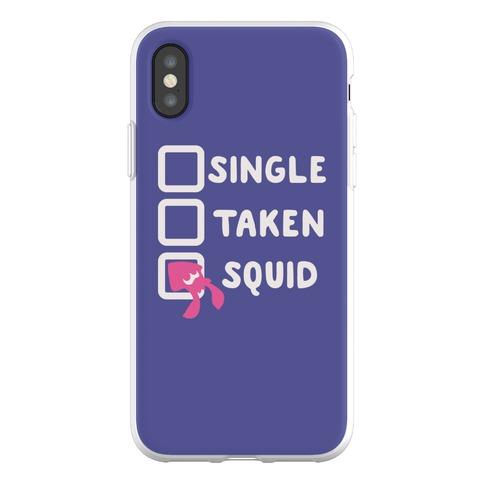 Single Taken Squid Phone Flexi-Case
