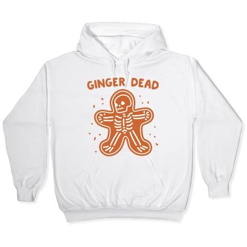Ginger Dead Skeleton Cookie Hooded Sweatshirt