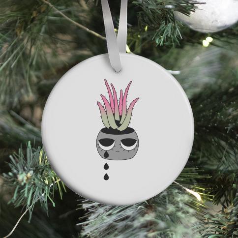 Emo Aloe Ornament