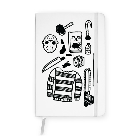 Slasher Slumber Party Kit Notebook