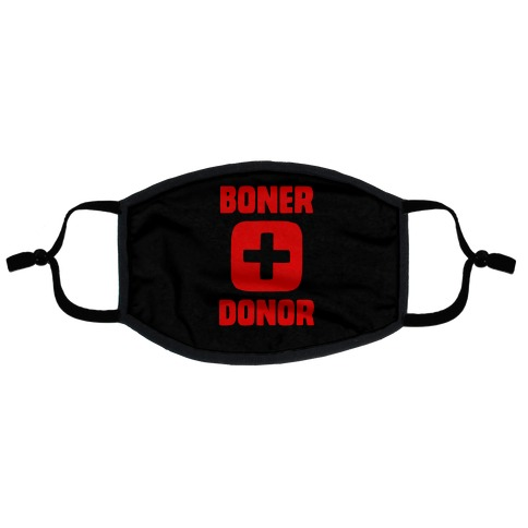 Boner Donor Flat Face Mask