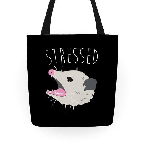 Stressed Opossum Tote