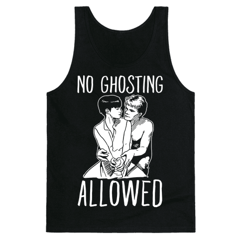 No Ghosting Allowed Tank Top