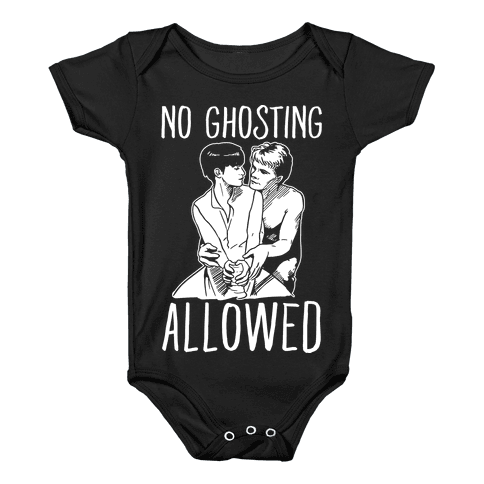 No Ghosting Allowed Baby Onesy