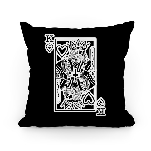 Death of Hearts (black) Pillow