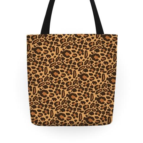 Leopard Print Pattern Tote