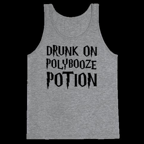 Drunk On Polybooze Potion Parody Tank Top