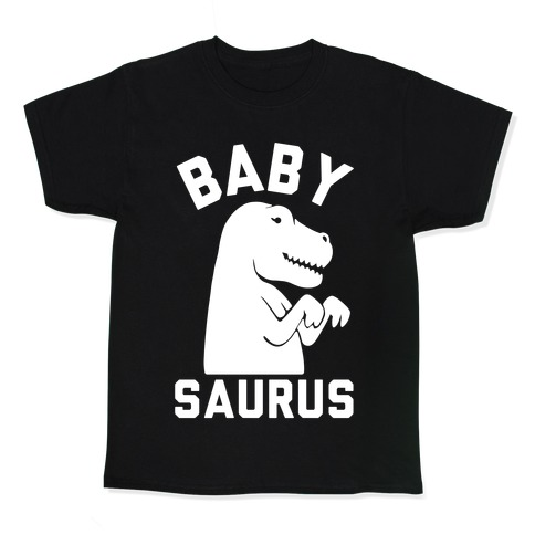 Baby Saurus Girl Kids T-Shirt