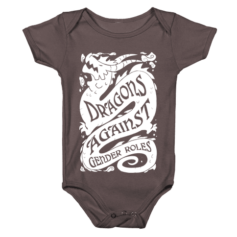 Dragons Against Gender Roles Baby One-Piece