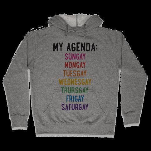 Gays of the Week Hooded Sweatshirt