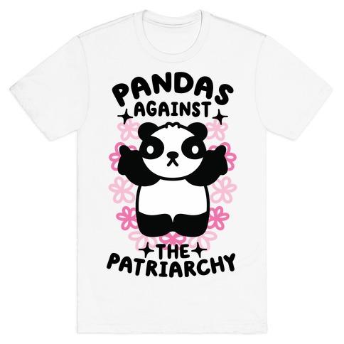 Pandas Against the Patriarchy T-Shirt