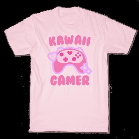 Kawaii Gamer Mens/Unisex T-Shirt