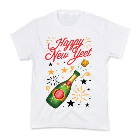 Happy New Yeet Kids T-Shirt