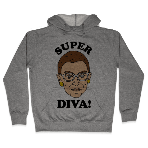Super Diva RBG Hooded Sweatshirt