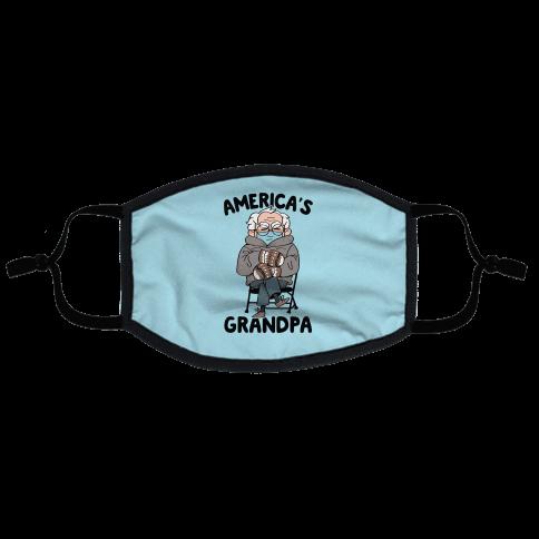 America's Grandpa Flat Face Mask