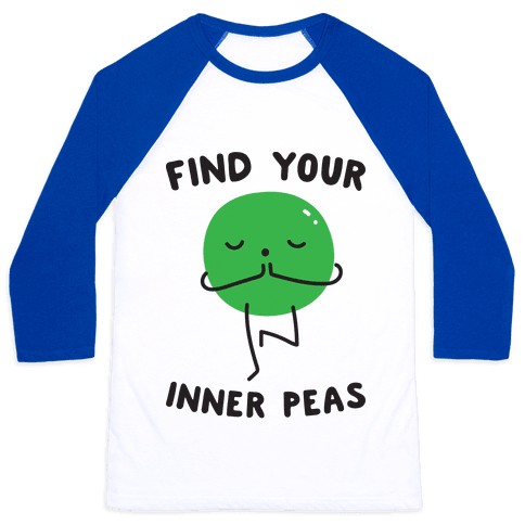 Find Your Inner Peas Baseball Tee