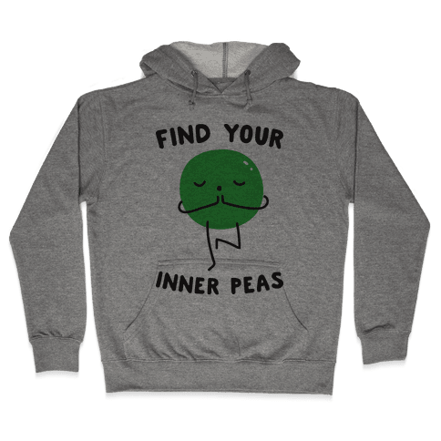 Find Your Inner Peas Hooded Sweatshirt