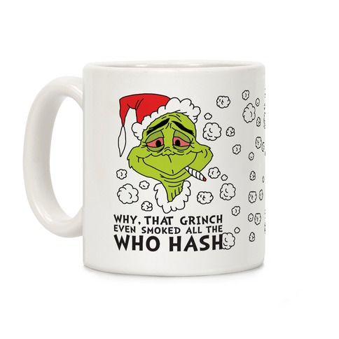 Who Hash Coffee Mug