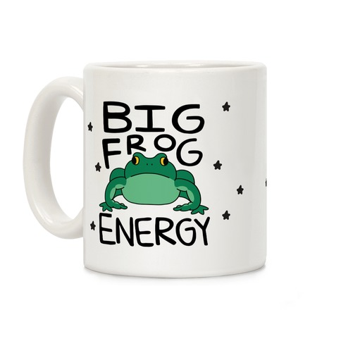 Big Frog Energy Coffee Mug