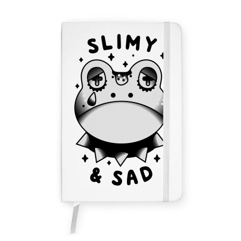 Slimy & Sad Frog Notebook