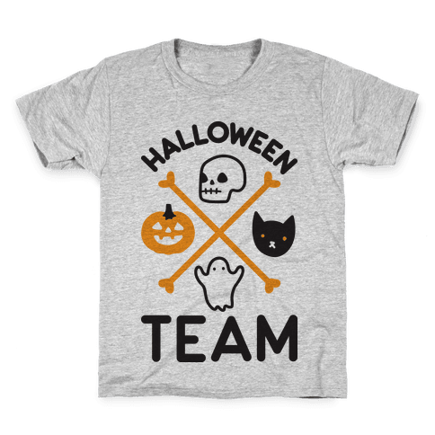 Halloween Team Kids T-Shirt