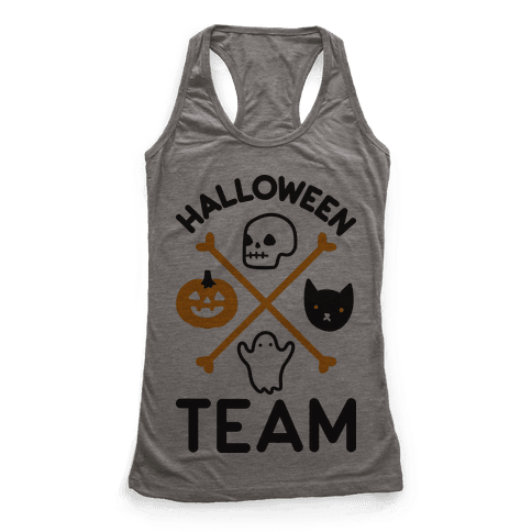Halloween Team Racerback Tank Top