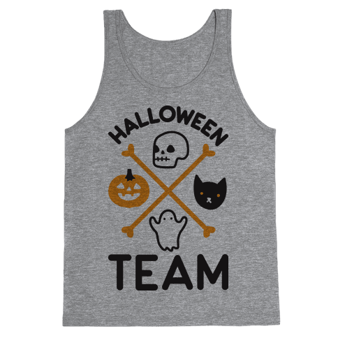 Halloween Team Tank Top