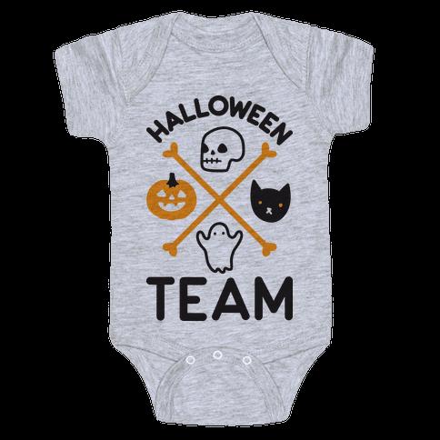 Halloween Team Baby Onesy