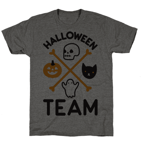 Halloween Team Mens T-Shirt