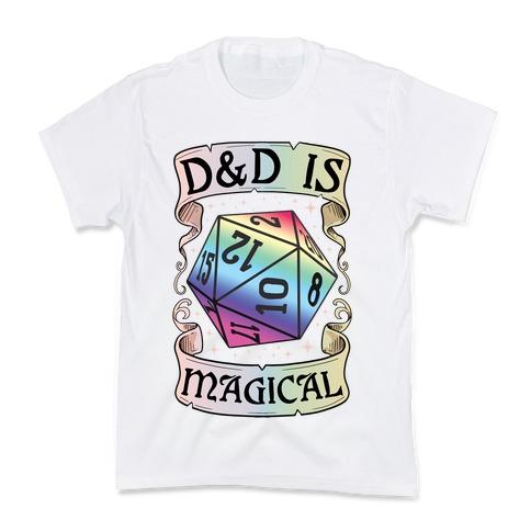 D&D Is Magical Kids T-Shirt