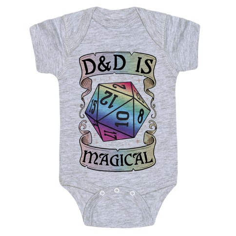 D&D Is Magical Baby Onesy