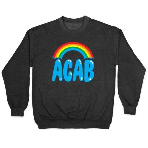 ACAB White Print Pullover