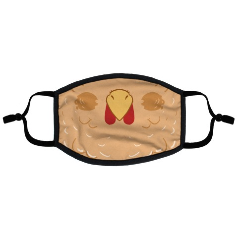 Chicken Beak Flat Face Mask